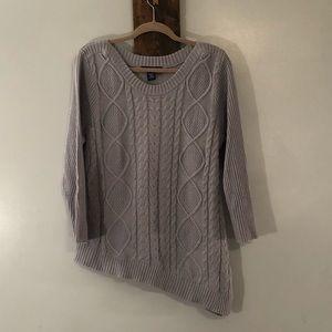 Asymmetrical sweater By Artisan, Size Large